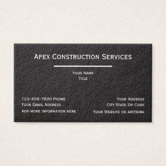 Premium Construction Businesscards Business Card