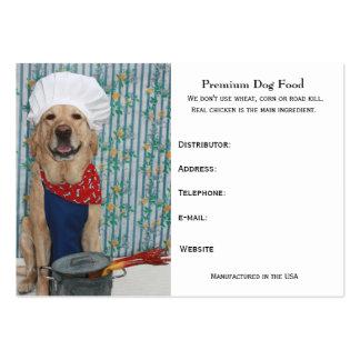 Premium Dog Food Business Cards