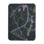 Premium Flexi Magnet Chalk Drawing Fish
