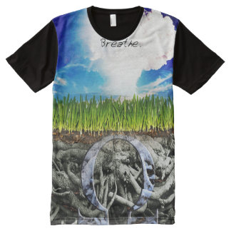 Premium Full Print Breathe Vape Shirt