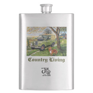 "Premium Hip Flask ""Farm"""