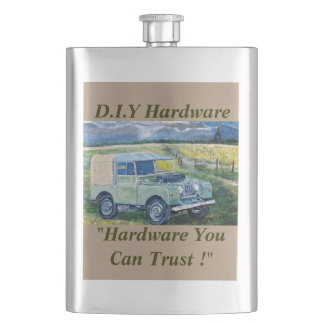 "Premium Hip Flask ""FREYA"" Design"