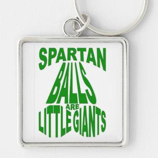 Premium Large Square Little Giants Keychain