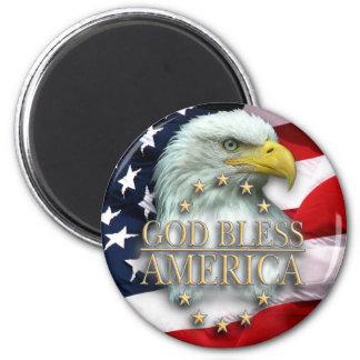 Premium Magnet - God Bless America