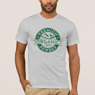 Premium Organic Alberta Powder T-Shirt