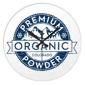 Premium Organic Colorado Powder Clock