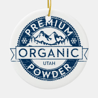 Premium Organic Utah Powder Ornament