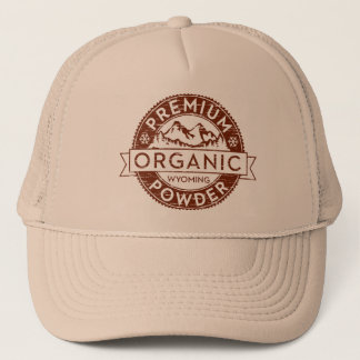 Premium Organic Wyoming Powder Trucker Hat