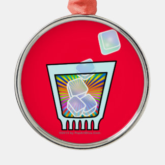 Premium ORNAMENTS - PSYCHEDELIC COCKTAIL GLASS