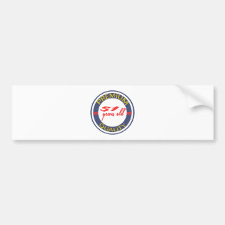 Premium quality 51 years old bumper stickers