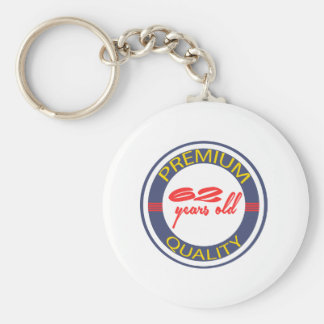 Premium quality 62 years old key chains