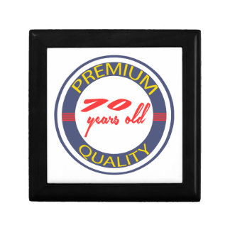Premium quality 70 years old keepsake box