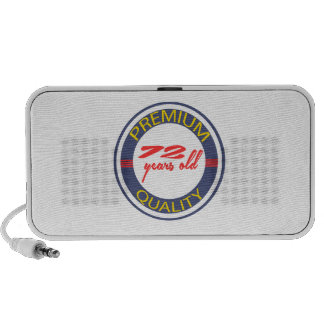 Premium quality 72 years old travel speakers