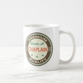 Premium Quality Chaplain (Funny) Gift Basic White Mug