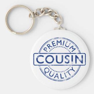 Premium Quality Cousin Basic Round Button Key Ring