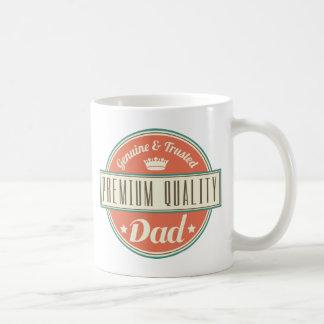 Premium Quality Dad (Funny Vintage) Gift Idea Coffee Mug