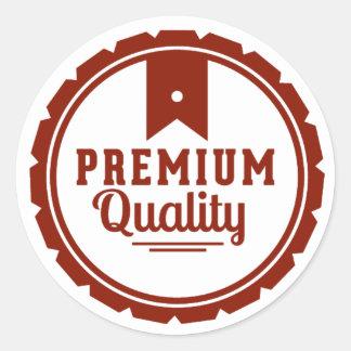 Premium Quality Round Sticker
