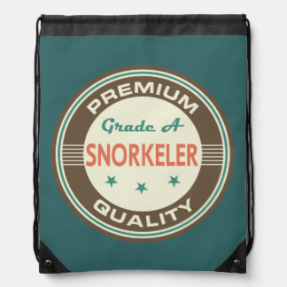 Premium Quality Snorkeler (Funny) Gift Drawstring Bags