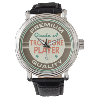 Premium Quality Trombone Player (Funny) Gift Watch