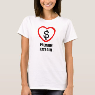 Premium Rate Girl 2 T-Shirt