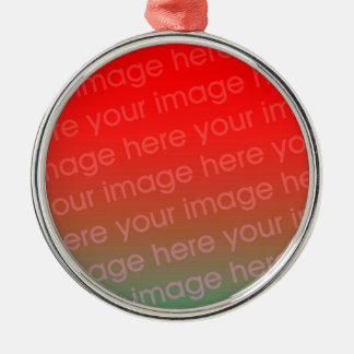 Premium Round Christmas Ornament Template