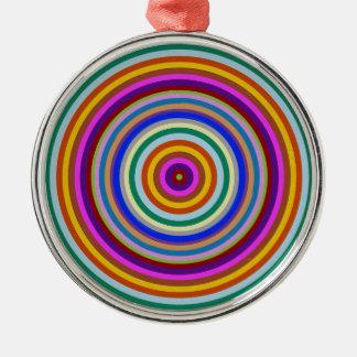 Premium Round Ornament    Acrylic Rainbow Circula