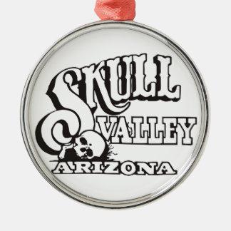 Premium Round Ornament w/ Skull Valley, Arizona