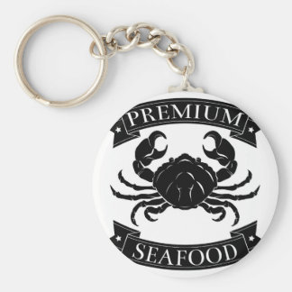 Premium sea food label key chains