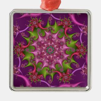 Premium Square Kaleidoscope Ornament #2