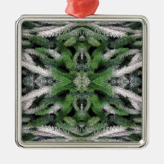 premium square ornament
