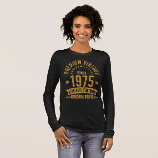 premium vintage  1975 limited edition original long sleeve T-Shirt