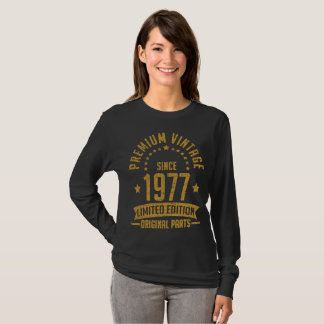 premium vintage  1977 limited edition original T-Shirt