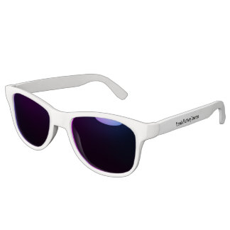 Premium White sunglasses (Midnight Lens)