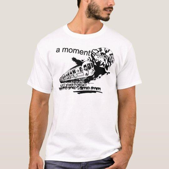 Premium White T - Train Logo T-Shirt