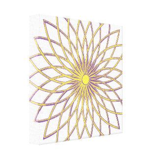 Premium Wrapped Canvas (Gloss) GEOMETRIC CIRCLE FL