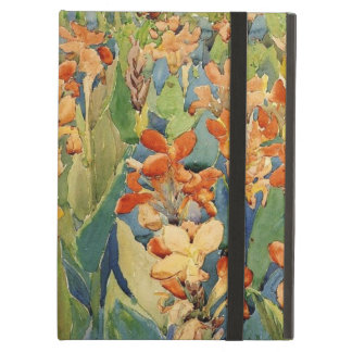 Prendergast painting: Bed of Flowers iPad Air Cover