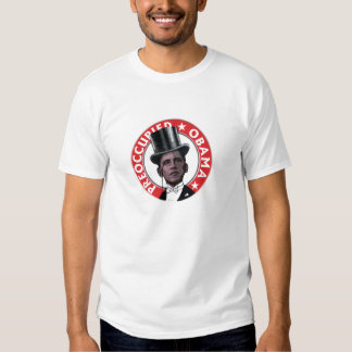 Preoccupied Obama Hood T-shirt
