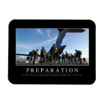 Preparation: Inspirational Quote Magnet