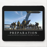 Preparation: Inspirational Quote Mouse Mat