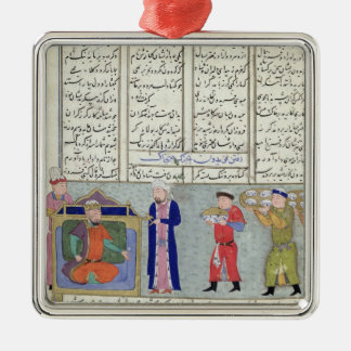 Preparation of the feast ordered by Feridun Christmas Ornament