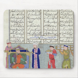 Preparation of the feast ordered by Feridun Mouse Mat