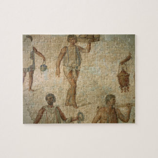 Preparations for a banquet, fragment of marble, li jigsaw puzzle