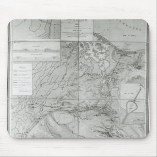 Preparatory Map of the Suez Canal, 1855 Mouse Mat