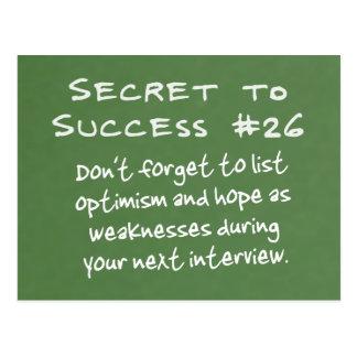 Prepare for Interviews in Advance Post Card
