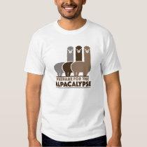 Prepare For The Alpacalypse Tee Shirt