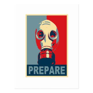Prepare! Postcard