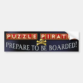 Prepare to Be Boarded Bumper Stickers