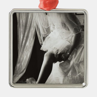 <Preparing> by Kim Koza Christmas Ornament