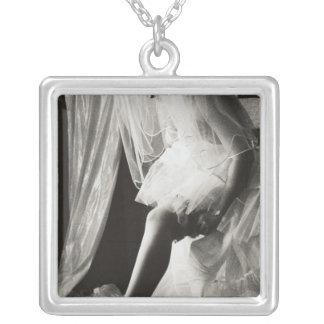 <Preparing> by Kim Koza Silver Plated Necklace