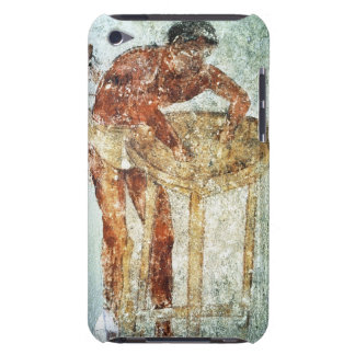 Preparing for a banquet, 4th century BC (mural pai iPod Touch Case-Mate Case